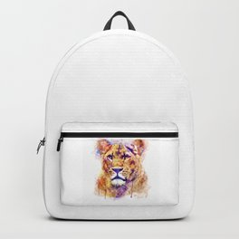 Lioness Head Backpack