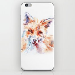 Let me be . . .  Red Fox iPhone Skin