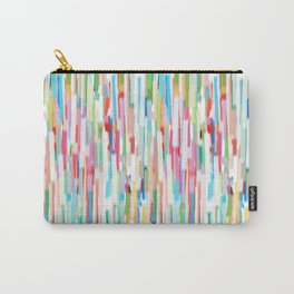 vertical brush strokes  Carry-All Pouch