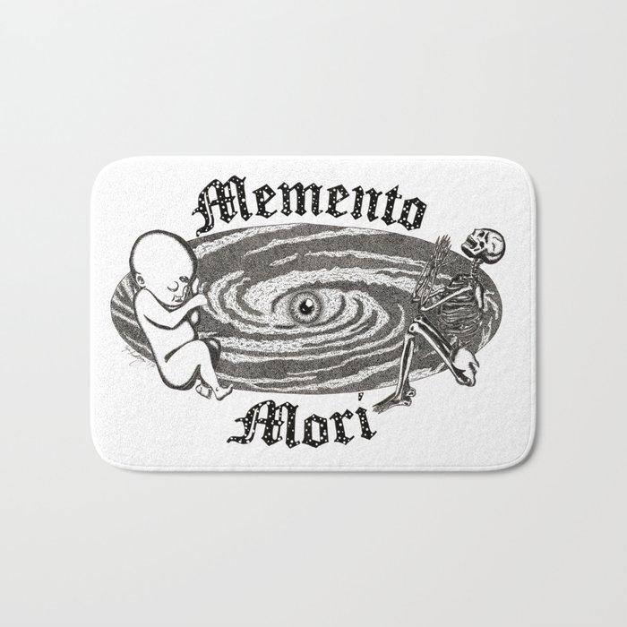 Memento Mori Bath Mat