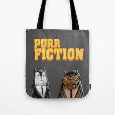 Purr Fiction Tote Bag