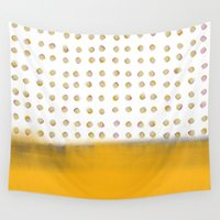 dot Wall Tapestries featuring dot dot dot by Francesco Pittiglio Berger