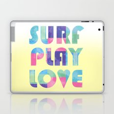 Surf Play Love Laptop & iPad Skin