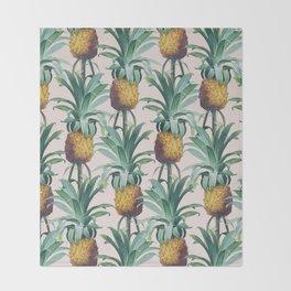 Pineapple Trellis Throw Blanket