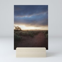 New Mexico Sunset Mini Art Print