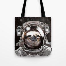 Astronaut Sloth Selfie Tote Bag