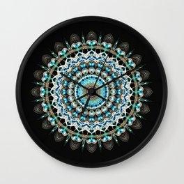 Mandala antique jewelry Wall Clock