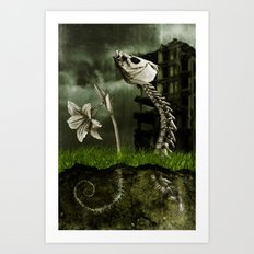 The Rainmaker Art Print