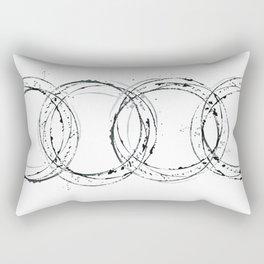 Abstract Watercolor. Rectangular Pillow