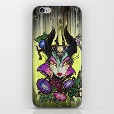 Malefica Glam iPhone & iPod Skin
