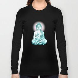 Buddha Namaste Long Sleeve T-shirt