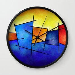Esseniumos V1 - square abstract Wall Clock