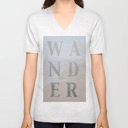 Wandering Unisex V-Neck