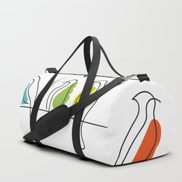 Birds on a line Duffle Bag