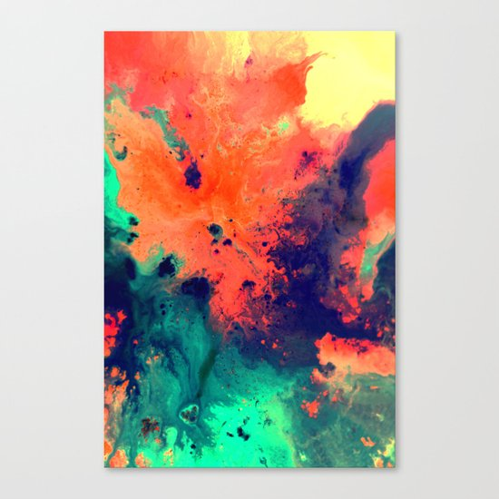 Immerse Canvas Print
