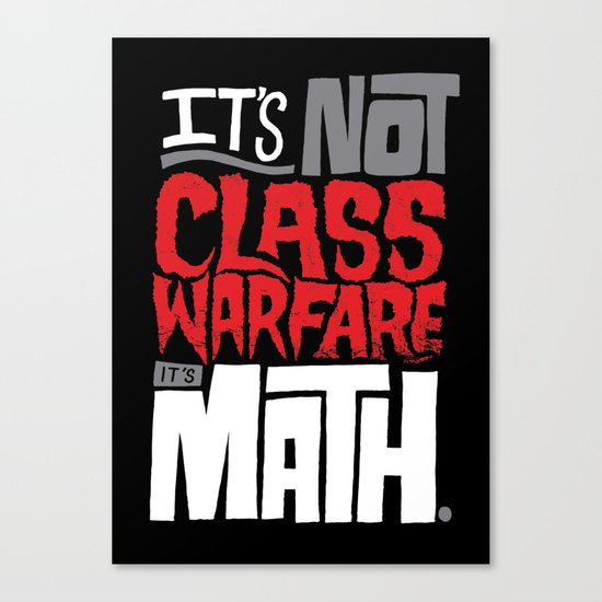 It's Math Canvas Print