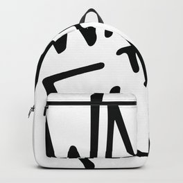 WAKE the FUCK up. Backpack