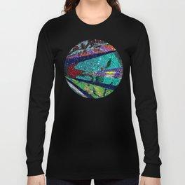 Peacock Mermaid Battlestar Galactica Abstract Long Sleeve T-shirt