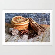Spices Of Life Art Print