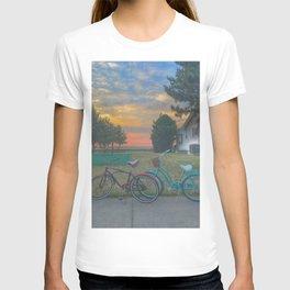 Bikes at Sunset T-shirt