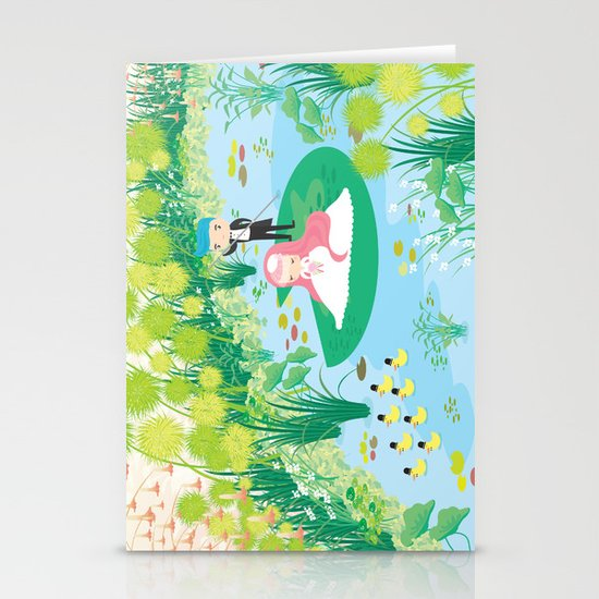 on the way home Stationery Cards