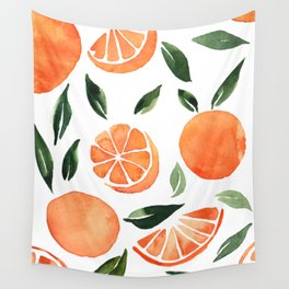 Summer oranges Wall Tapestry