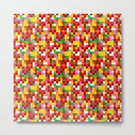 Pixel by pixel – The Birdy Bunch III Metal Print