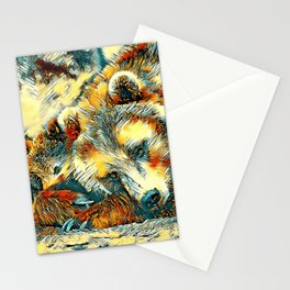 AnimalArt_Bear_20170602_by_JAMColorsSpecial Stationery Cards