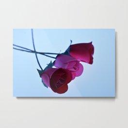 Three Roses Metal Print