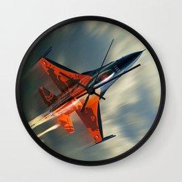 F16 Fighting Falcon Wall Clock