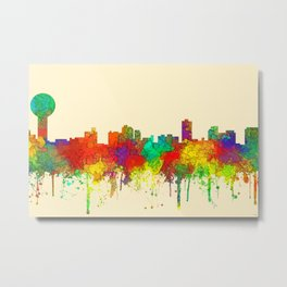 Knoxville, Tennessee Skyline - SG Metal Print