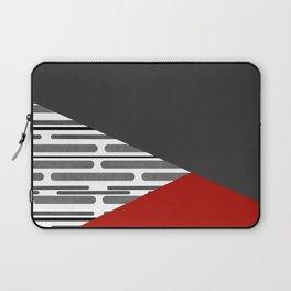 Simple patchwork Laptop Sleeve