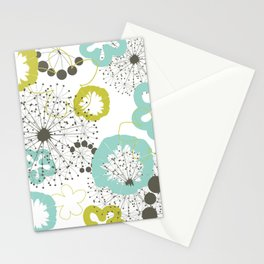 Flower a background Stationery Cards