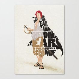 The Red Hair Canvas Print