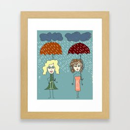 "Bob Dylan ""Rainy Day Women #12 & 35"" Framed Art Print"