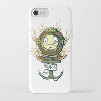 abyss iPhone & iPod Cases featuring Abyss by Emeline Chauvin