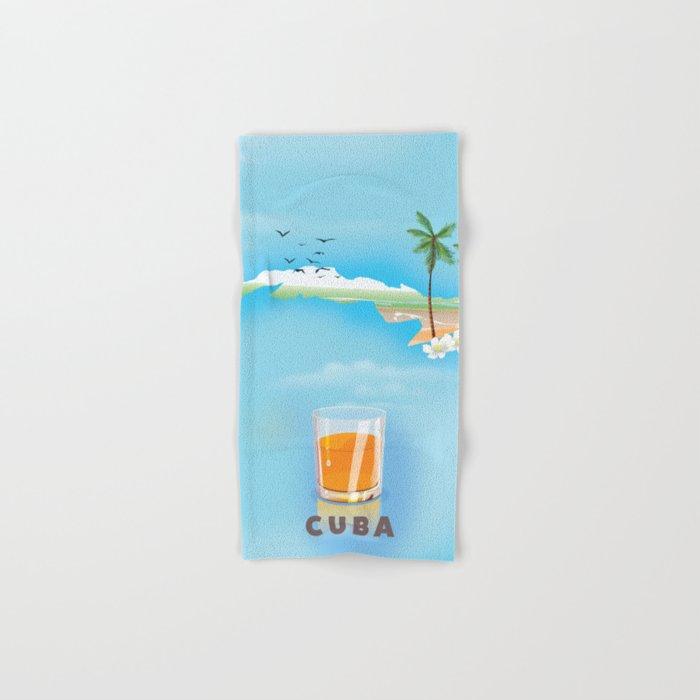Cuba Hand & Bath Towel