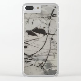 Cinerous Clear iPhone Case
