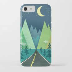 The Long Road at Night iPhone 7 Slim Case