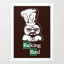 Baking Bad Art Print