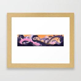 Left Framed Art Print