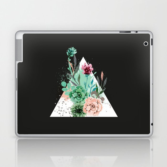 Suculetas Zen Laptop & iPad Skin