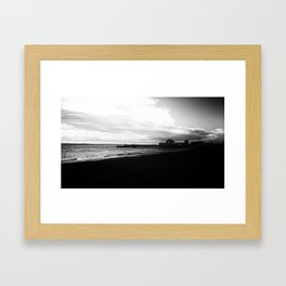 Beach life. Framed Art Print