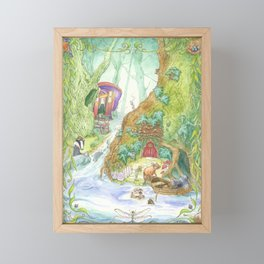 The Wind in the Willows Framed Mini Art Print