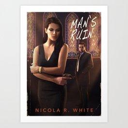 Man's Ruin - Pulp Cover Variant Art Print