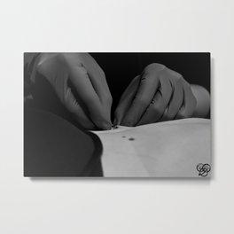 Piercing Metal Print