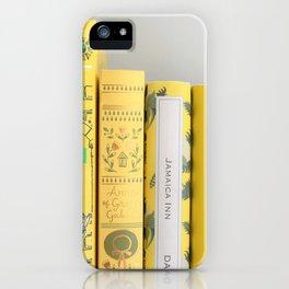 Shelfie in Yellow iPhone Case