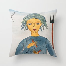 Pesci Throw Pillow