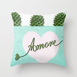 Cactus Love Throw Pillow