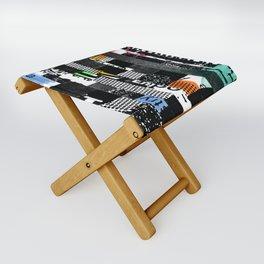 colored photocopy Folding Stool